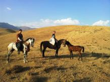 A trail ride with Mateusz.