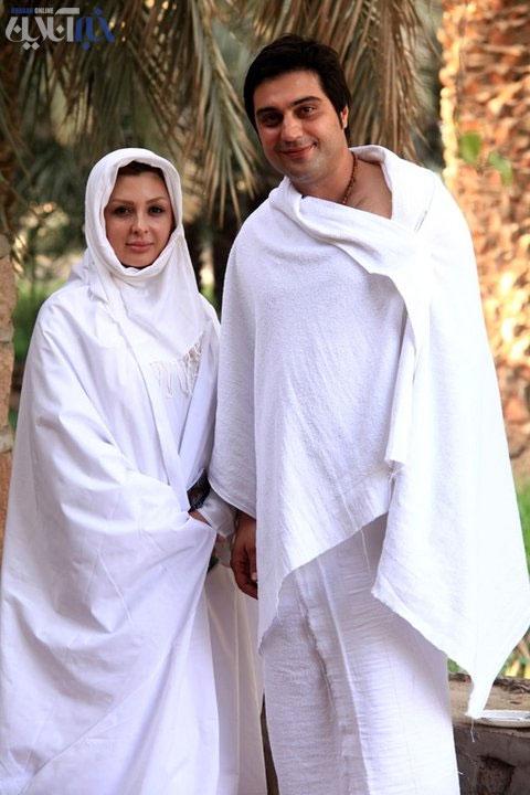 عکس عروسی نیوشا ضیغمی وهمسرش