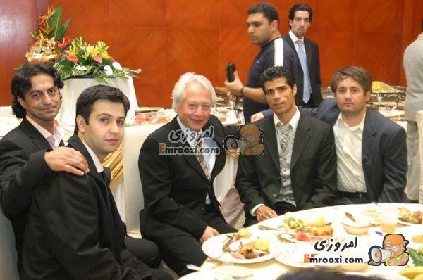 عکس از عروسی علی دایی