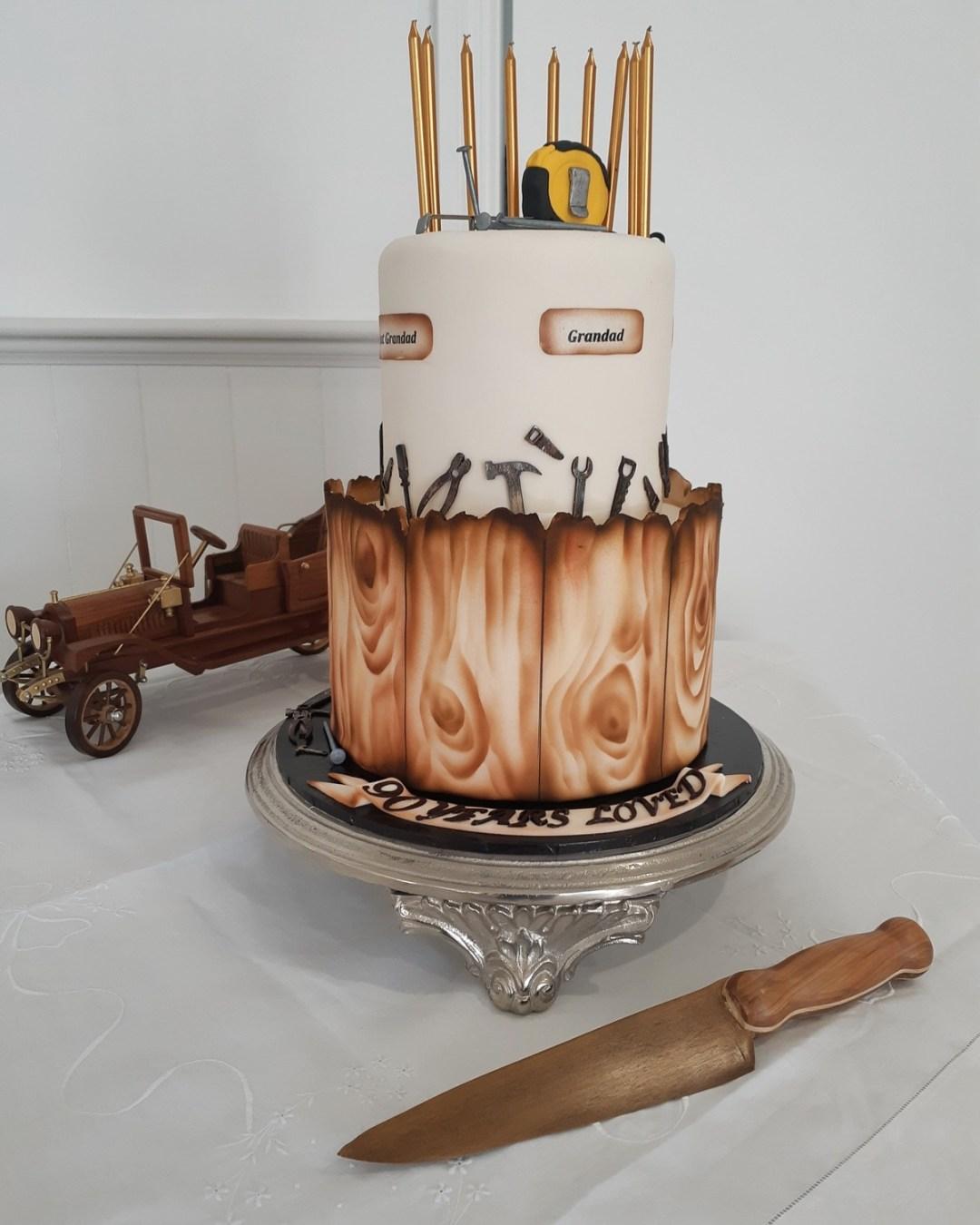 Woodturners Cake