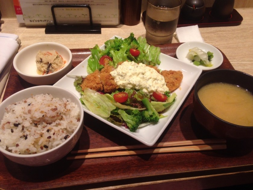 New food in a cafe in Ueno