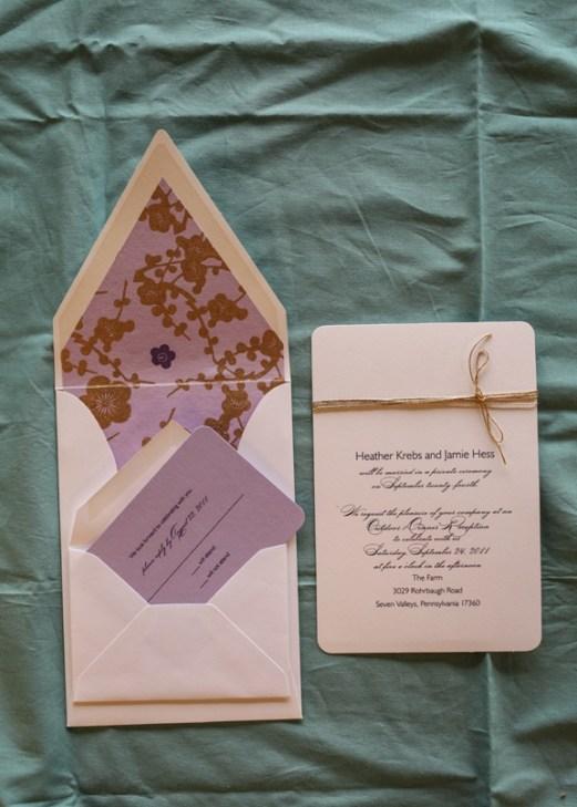 Rustic Invitation