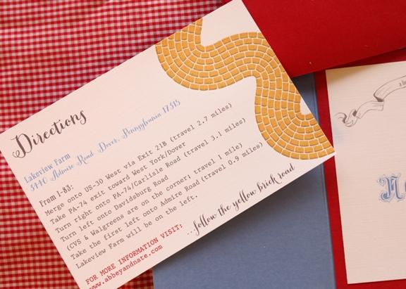 Wizard of Oz invitations