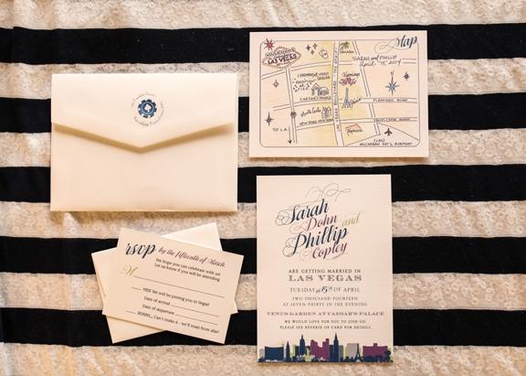 Capture the fun of a destination wedding in Las Vegas!