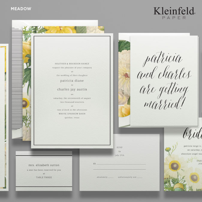 2018 Wedding Stationery Trends Persnickety Invitation Studio