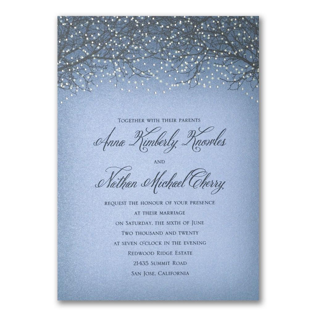 bistro lights invitation