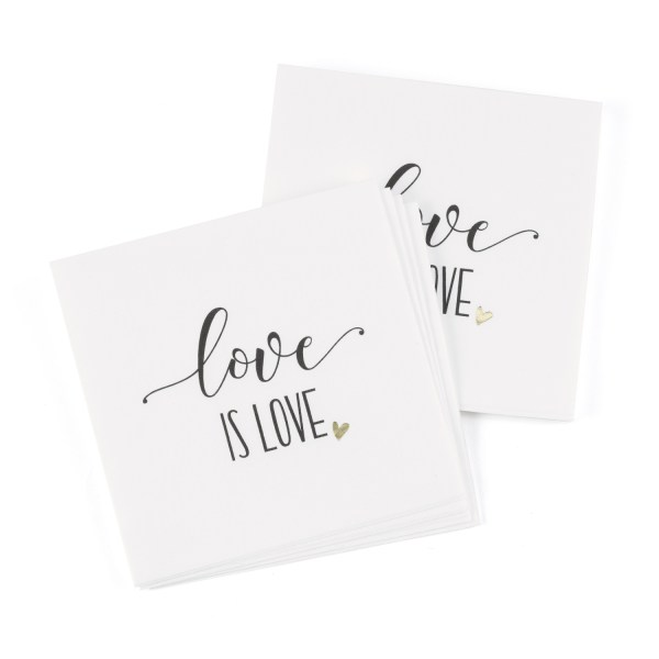 love is love napkins