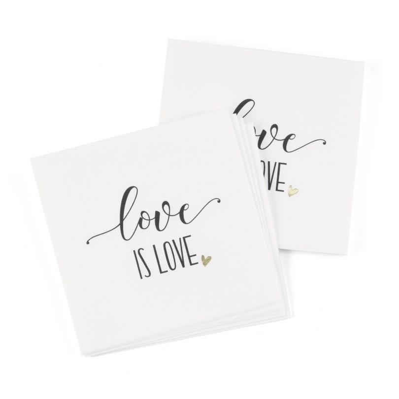 love is love napkins