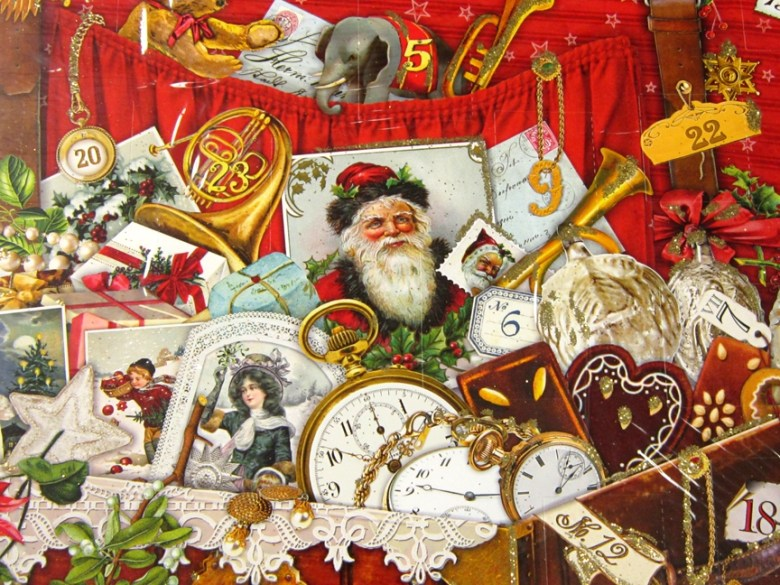 sadly these vintage inspired advent calendars have become difficult to find so when persnickety found these stunning calendar designs from the german - When Did Christmas Become A National Holiday