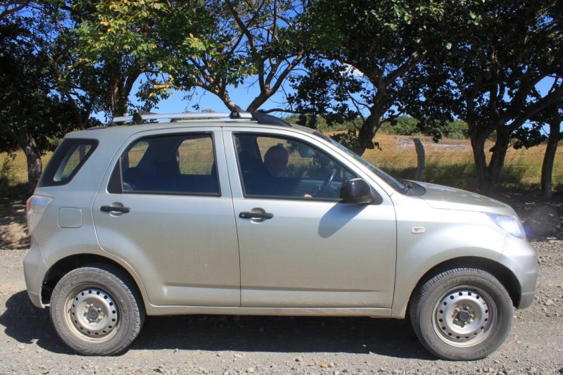 Our 4x4 Rental Car in Costa Rica