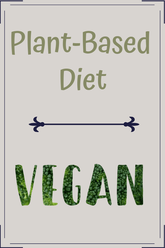 vegan plant-based diet