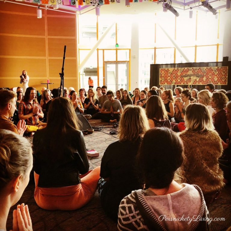 Closing Ceremony Yogafort Yoga Festival