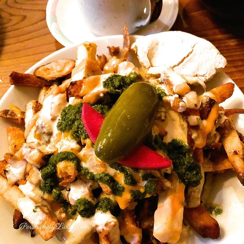Vegan Shawarma Fries Aviv Restaurant Southeast Portland