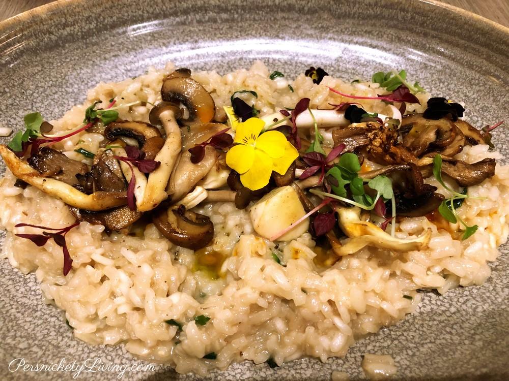 Vegan Mushroom Risotto Urban Brasserie