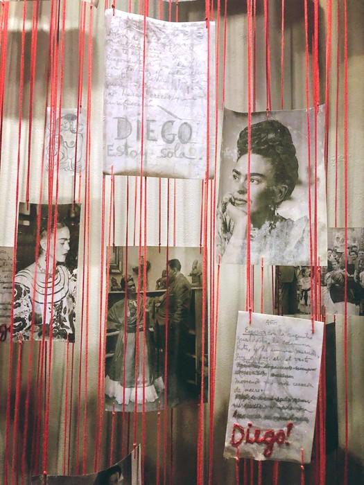 estoy sola Frida Kahlo museum in Playa del Carmen