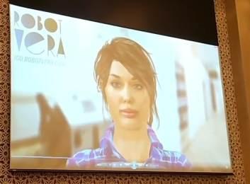 Screenshot: Öffentliche Präsentation Roboter Vera