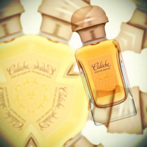 Обзор Hermes Caleche Soie De Parfum от признанного парфюмерного критика Persolaise, 1992 г.