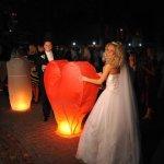 небесні ліхтарики на весілля