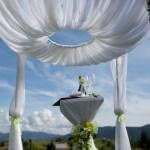 весільна арка-купол