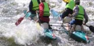 сплав на катамаранах гірською річкою