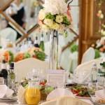 оформлення столу на весіллі