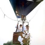 воздушный шар на свадьбе