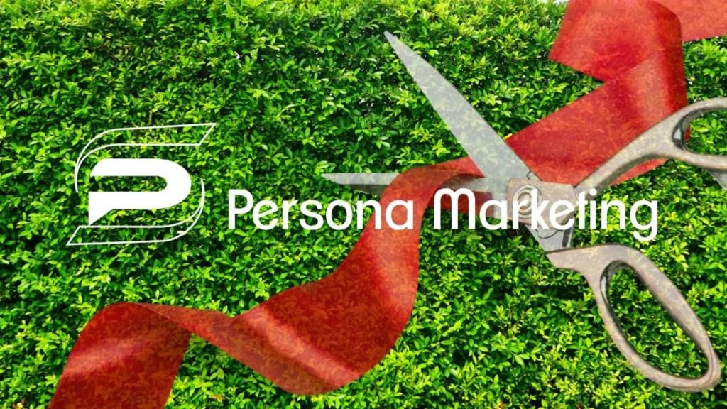 Persona Digital Marketing Ribbon Cutting