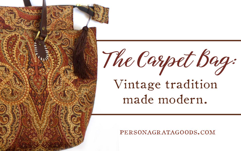 Carpet Bags from North Carolina Vintage