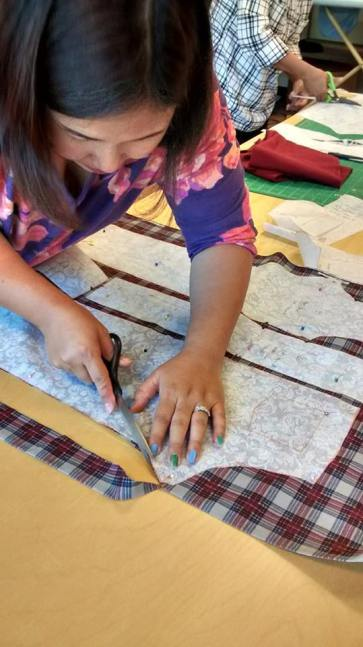 Make Welcome Refugee Sewing School in Charlotte NC