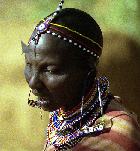 African Rope Necklace: Inspiration for our nursing necklace