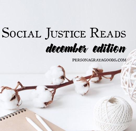 Social Justice Booklist