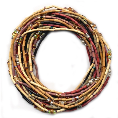 Maasi bead necklace African style