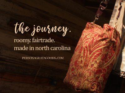 Fair Trade Carpet Bags made in NC