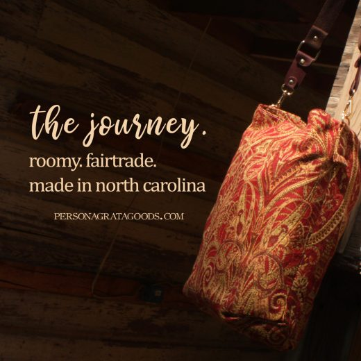 Fair Trade Carpet Bags made in NC