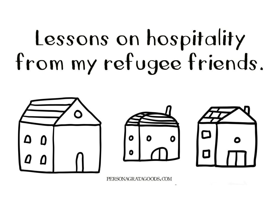 refugees and hospitality