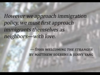 Welcoming the stranger immigration world relief