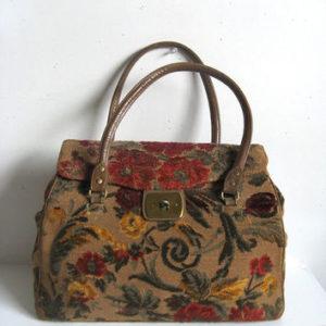 60s Chenille Handbag