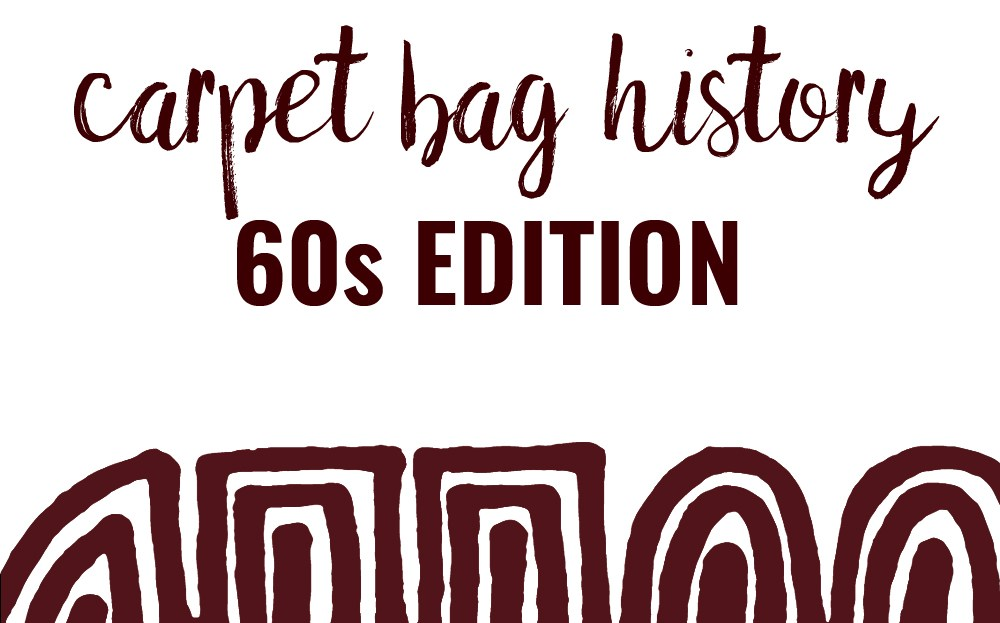 tapestry carpet bag sixties history