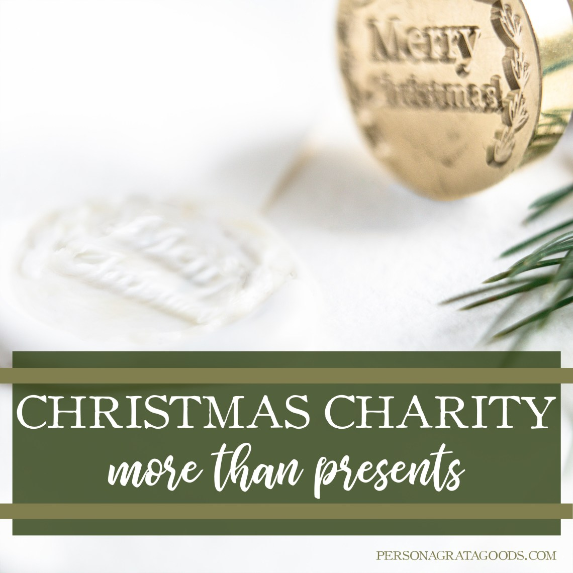 Christmas Charity What works