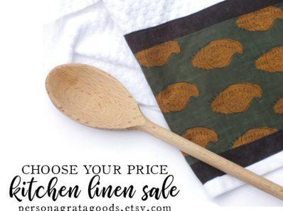Fair Trade Kitchen Linen Sale