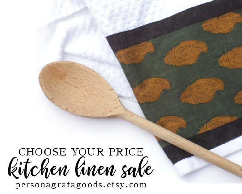Fair Trade Kitchen Linen Sale