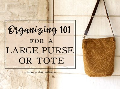 Organize Large Purse or Tote