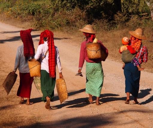 Karen women in Myanmar
