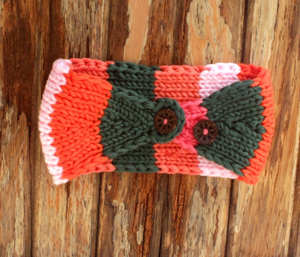 Chunky Knit Ear Warmer