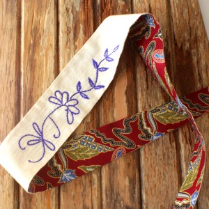 Embroidered Fair Trade Head Wrap