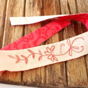 Rose Fair Trade Embroidered Head Wrap