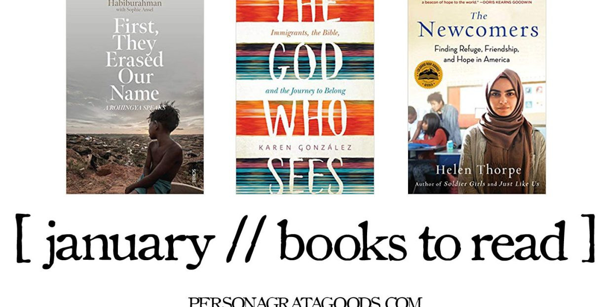January Books about Refugees Immigrants