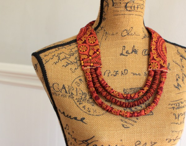 African Statement Necklace