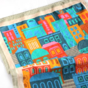 Cityscape Tea Towel
