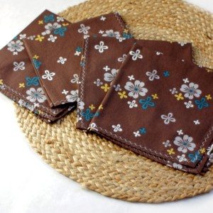 Organic Brown Napkins
